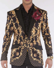 Blazer for men Victorian Print - ANGELINO