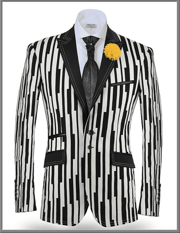 Fashion Blazer and Sport Coat Piano - Wedding - Tuxedos - Suits - ANGELINO