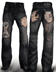 Men's Handmade Fashion Denim/Jeans Hiroshima