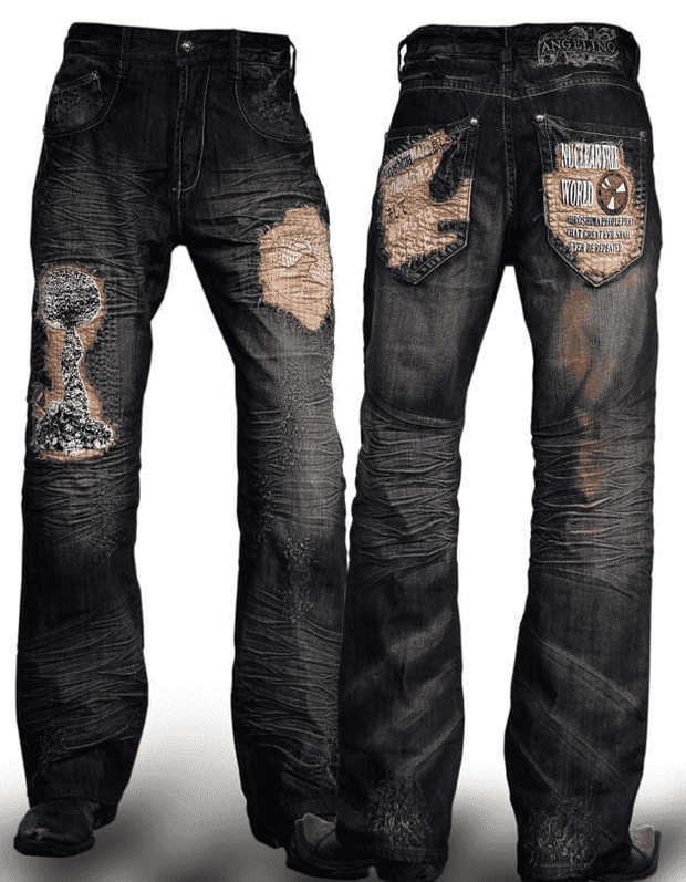 Men's Handmade Fashion Denim/Jeans Hiroshima - ANGELINO