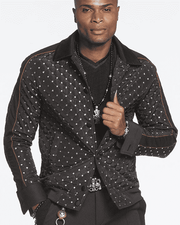 Men's New Fashion Bomber Jacket Adam - ANGELINO