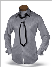 Mens Silk Shirts, SJ White - Dress - Men - Fashion