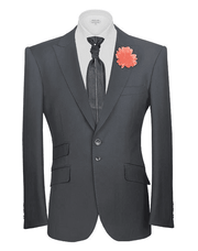 black blazer, Classic pick lapel - Fashion - Mens - Blazers