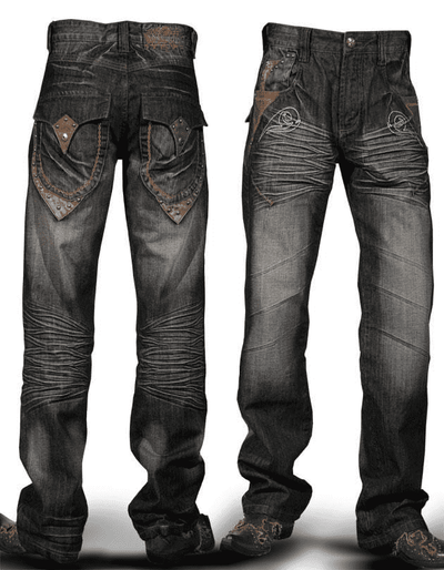 Angelino Jeans - Chain Brown