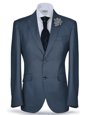 Men's Classic Suit-New Classic Suit2 Navy (41) - ANGELINO