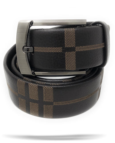 Men's BROWN Genuine Leather Belt