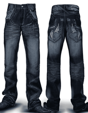 Men's New Fashion Angelino Jeans Tribal Blue - ANGELINO