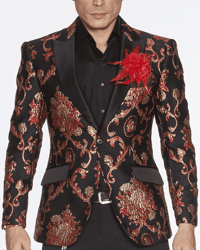 Blazer for Men, Cooper Red - ANGELINO