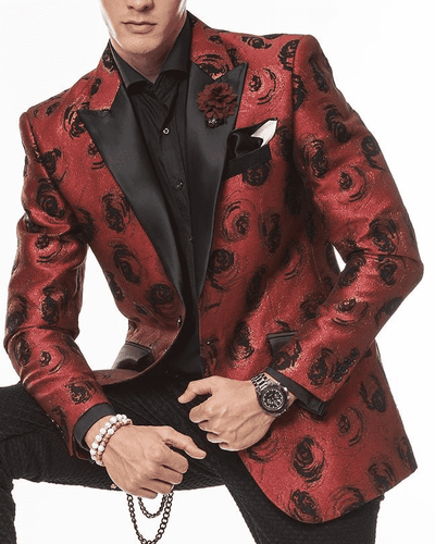 Fashion Sport coat and Blazer for Men-Eden Rust - ANGELINO