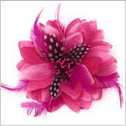 Men's Fashion Lapel Flower- Flower1 Pink - ANGELINO
