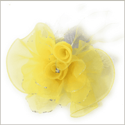 Men's Fashion Lapel Flower- Flower2 Yellow
