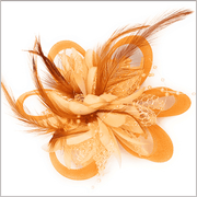 Men's Fashion Lapel Flower- Flower4 Orange - ANGELINO
