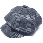 Men's new Fashion Hat Glen Blue - ANGELINO