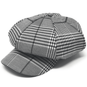 Men's Fashion Hat Glen Grey Navy - ANGELINO