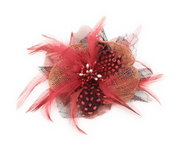 Men's Fashion Lapel Flower- Flower5 Red