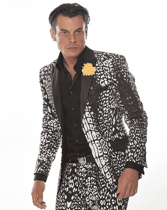 Men's Fashion Suit-Croc Suit - Tuxedo - Prom - Suits - ANGELINO