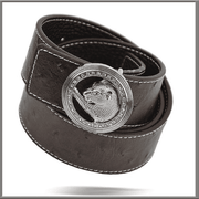 Men's Fashion Angelino Belts #300 Brown - ANGELINO