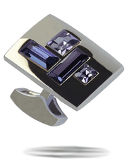 Men's Fashion Angelino Cufflinks #8 Blue - ANGELINO