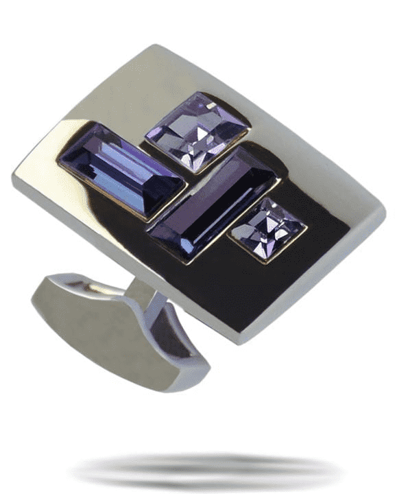 Angelino Cufflinks- #8 Blue