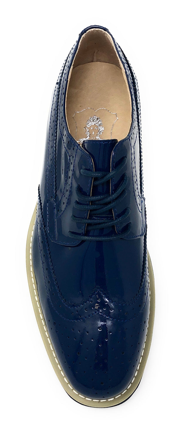 Men's Leather Shoes - Spirit Navy - Fashion-Mens - ANGELINO
