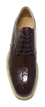 Men's Leather Shoes - Spirit Brown - Fashion-Mens