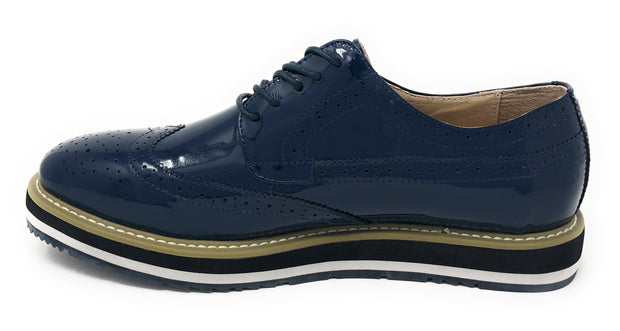 Men's Leather Shoes - Spirit Navy - Fashion-Mens