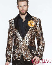 Silk Blazer for Men  - ANGELINO