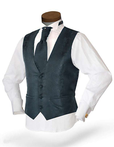 Black Vest Set - Prom - Wedding - Homecoming- Albero