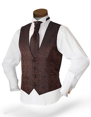 Men's Formal Vest Set - Prom - Wedding - Homecoming- Mika Brown - ANGELINO