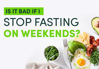 Is it bad if I stop fasting over the weekend?