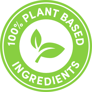 100% Plant-Based Ingredients