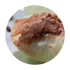 apples with nut butter