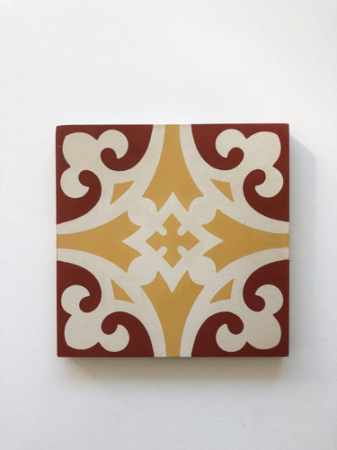 Encaustic Tile - V15-15