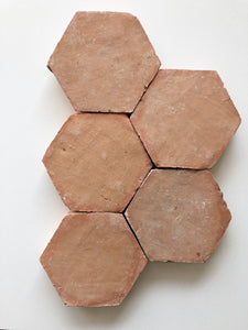 Terracotta Hexagon Tile