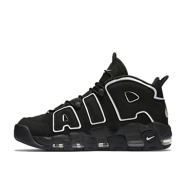 9369a19fc747 Authentic Nike Air More Uptempo Men s Breathable Basketball Shoes Sports  Sneakers New Arrival Top Quality