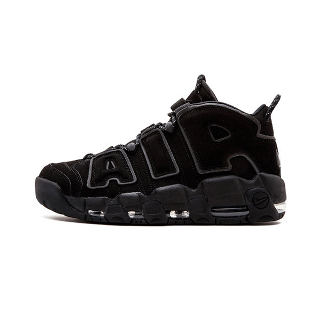 27b2a3c10 Authentic Nike Air More Uptempo Men's Breathable Basketball Shoes Sports  Sneakers New Arrival Top Quality