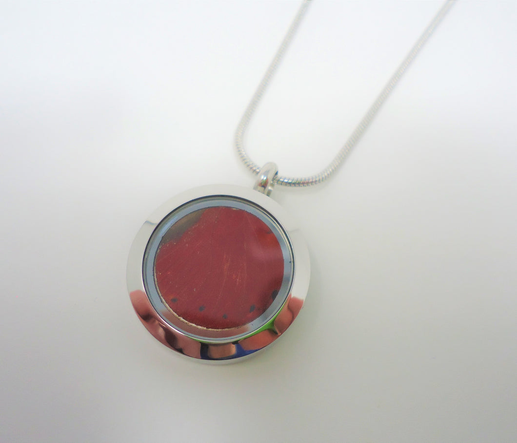 Blood Red Glider Locket