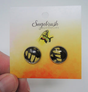 Anise Swallowtail Post Earrings