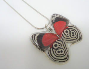 Cramer's 88 Butterfly Resin Necklace