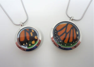 Monarch Butterfly Locket