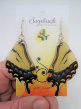 Eastern Tiger Swallowtail Resin Earrings