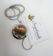 Malay Lacewing Butterfly Locket