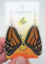 Monarch Butterfly Resin Earrings