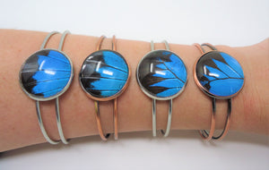 Blue Mountain Swallowtail Bracelet