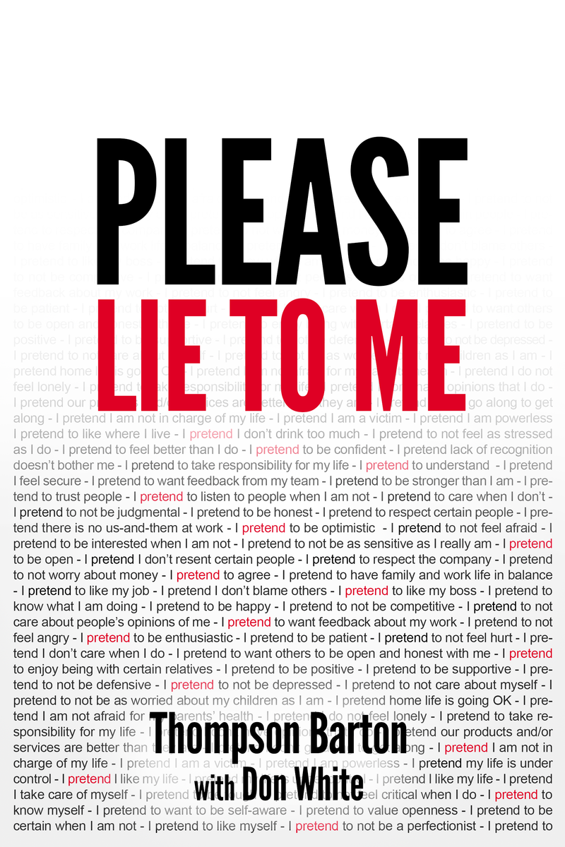 Please Lie To Me Book