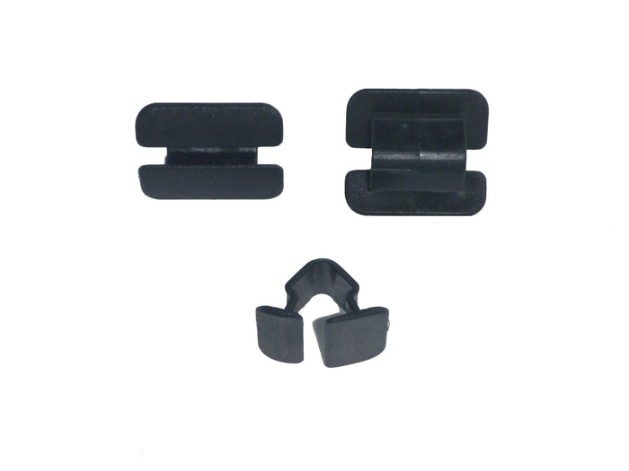 H10953 - Volkswagen Audi Black Nylon Hood Insulation Retainer
