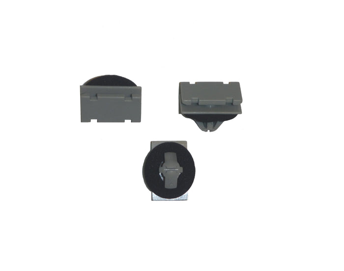 CR12040 Gray Nylon Rocker Moulding Clip for Jeep & GM