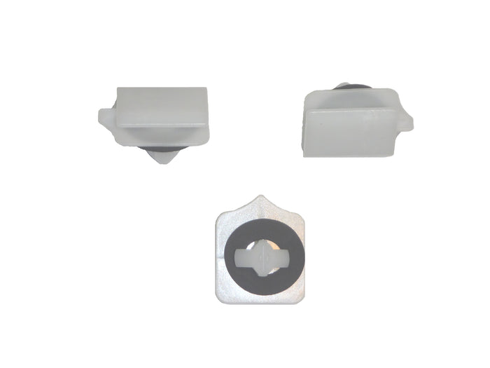 CR12896 - Ford White Nylon Moulding Retainer