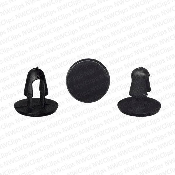 C7 - Replacement for GM & Toyota Grill & Radiator Black Nylon Retaining Clip