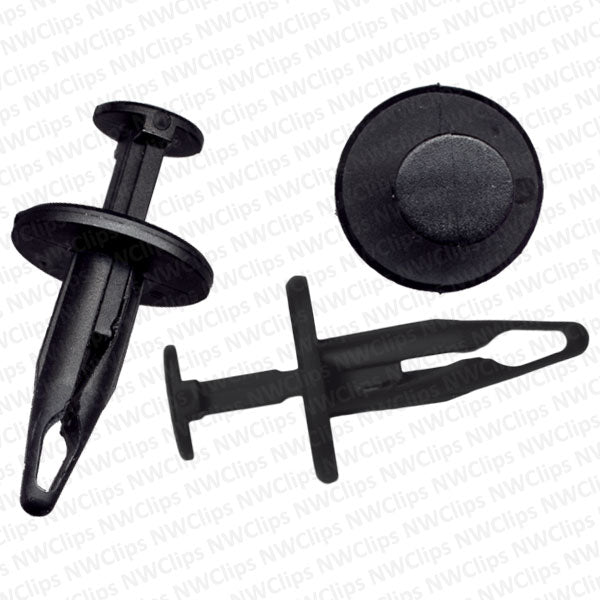 C17 - Chrysler, Ford & GM Exterior Body Black Nylon Retainer Clip